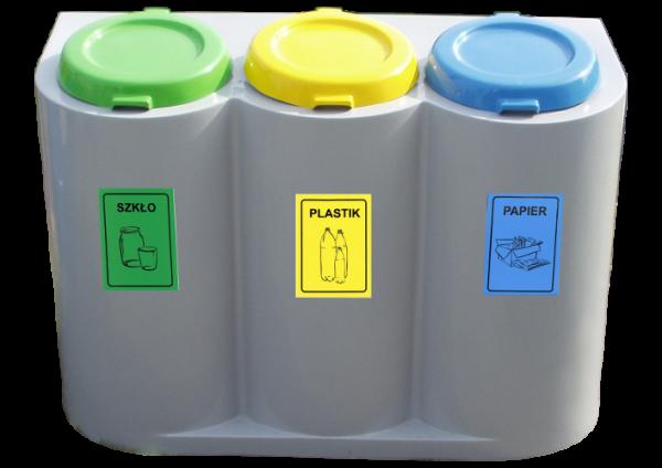 Pojemniki do segregacji odpadów EKOSZAFKA (S029)