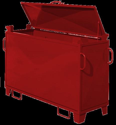 Pojemnik na odpady niebezpieczne KONTENER na świetlówki (N014)