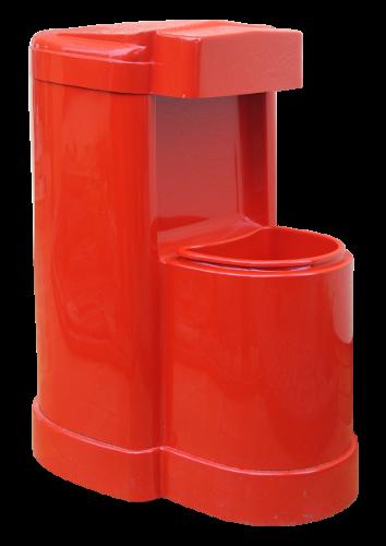 KOSZOMYJKA BP (K023) kosz z myjką na stacje paliw