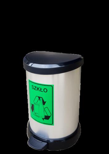 Pojemnik do segregacji odpadów Metalik 20 (P015)