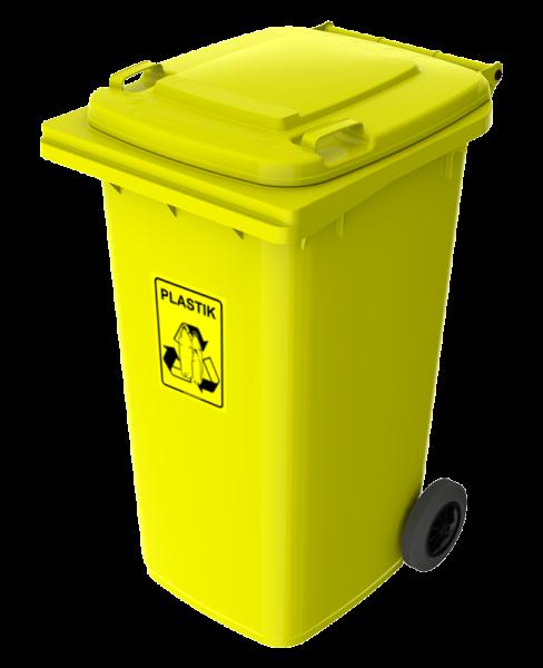 PE-240 żółty plastik