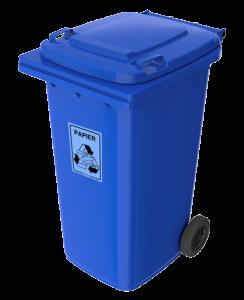 PE-240 niebieski papier
