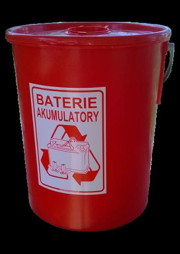 Pojemnik na odpady niebezpieczne NA BATERIE (N022)