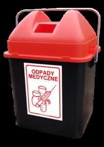Pojemnik na odpady medyczne KcaBox_1s