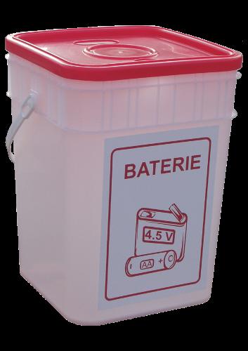 Pojemnik na odpady niebezpieczne na baterie 15 (N027)