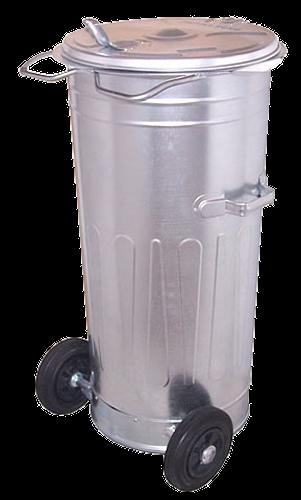 Pojemnik na odpady SM-110K (P008A) z kółkami