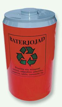 Pojemnik na odpady niebezpieczne BATERIOJAD (N009)