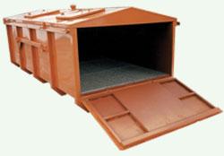 Pojemnik na odpady niebezpieczne KONTENER ekologiczny (N019)