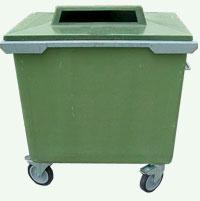 Pojemniki do segregacji odpadów (S023)