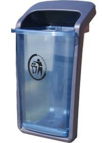 Kosz na śmieci TRANSPARENT (K003)