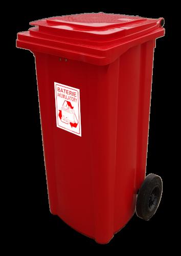 Pojemnik na odpady niebezpieczne POJEMNIK na baterie (N005)