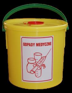 Pojemnik na odpady medyczne  15L_1s