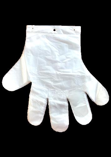 Jednorazowe rękawice foliowe (C016)