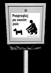 Podajnik woreczków na psie odchody_8s