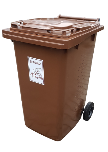 Pojemnik na bioodpady 240L – PREMIUM PE240 (S018)