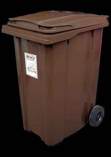 Pojemnik na Bioodpady 360L – STANDARD PE360 (P011B)