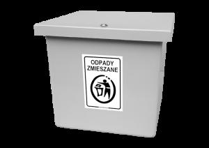 Pojemnik do segregacji odpadów AT65_10s