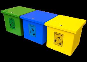 Pojemnik do segregacji odpadów AT65_3s