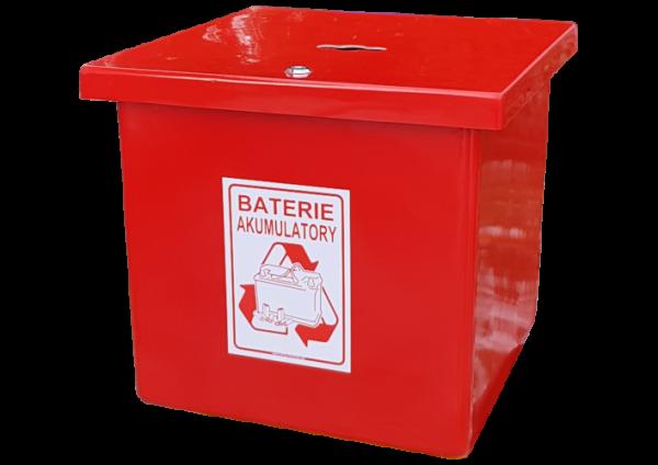 Pojemnik na Baterie AT65 na odpady niebezpieczne (N030)