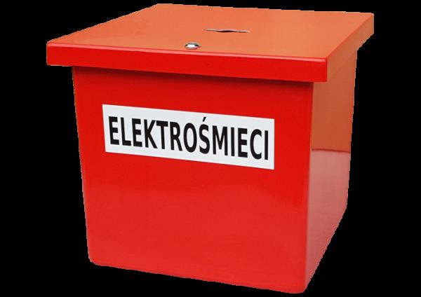 Pojemnik na Elektrośmieci AT65 na odpady niebezpieczne (N030)