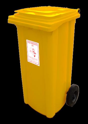 Pojemnik na odpady medyczne PRZETERMINOWANE LEKI (N005)