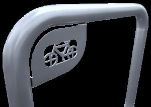 Stojak na rowery Prosty_2s