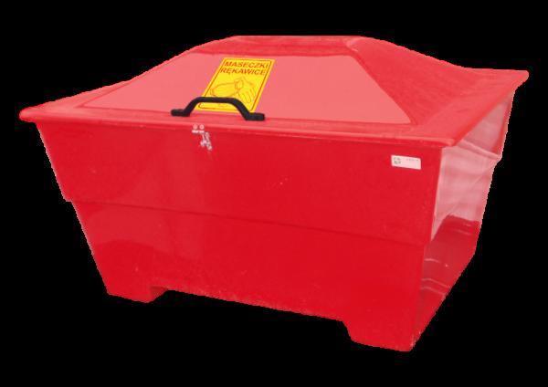 Pojemnik na zużyte Maseczki Rękawice Fartuchy 450l (N010)