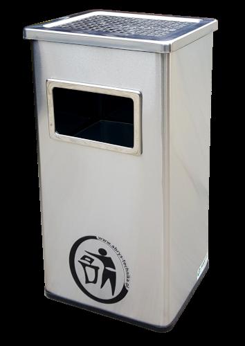 Kosz na śmieci KOSZOPOPIELNICA prostokątna (K011)