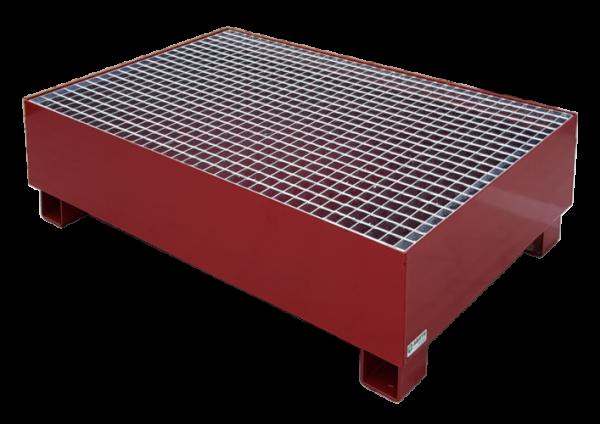Wanna ociekowa stalowa pod 2 beczki (N032)