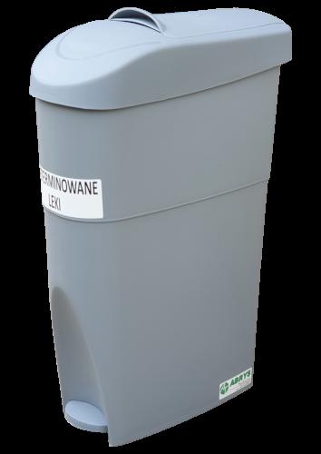 Pojemnik na odpady niebezpieczne na przeterminowane leki CP18 (N034)